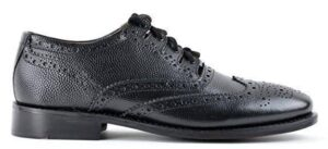 Grained Leather Ghillie Brogue